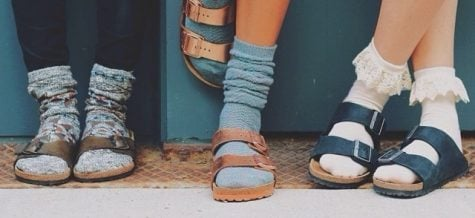 Socks and sandals are fouling up fashion show runways