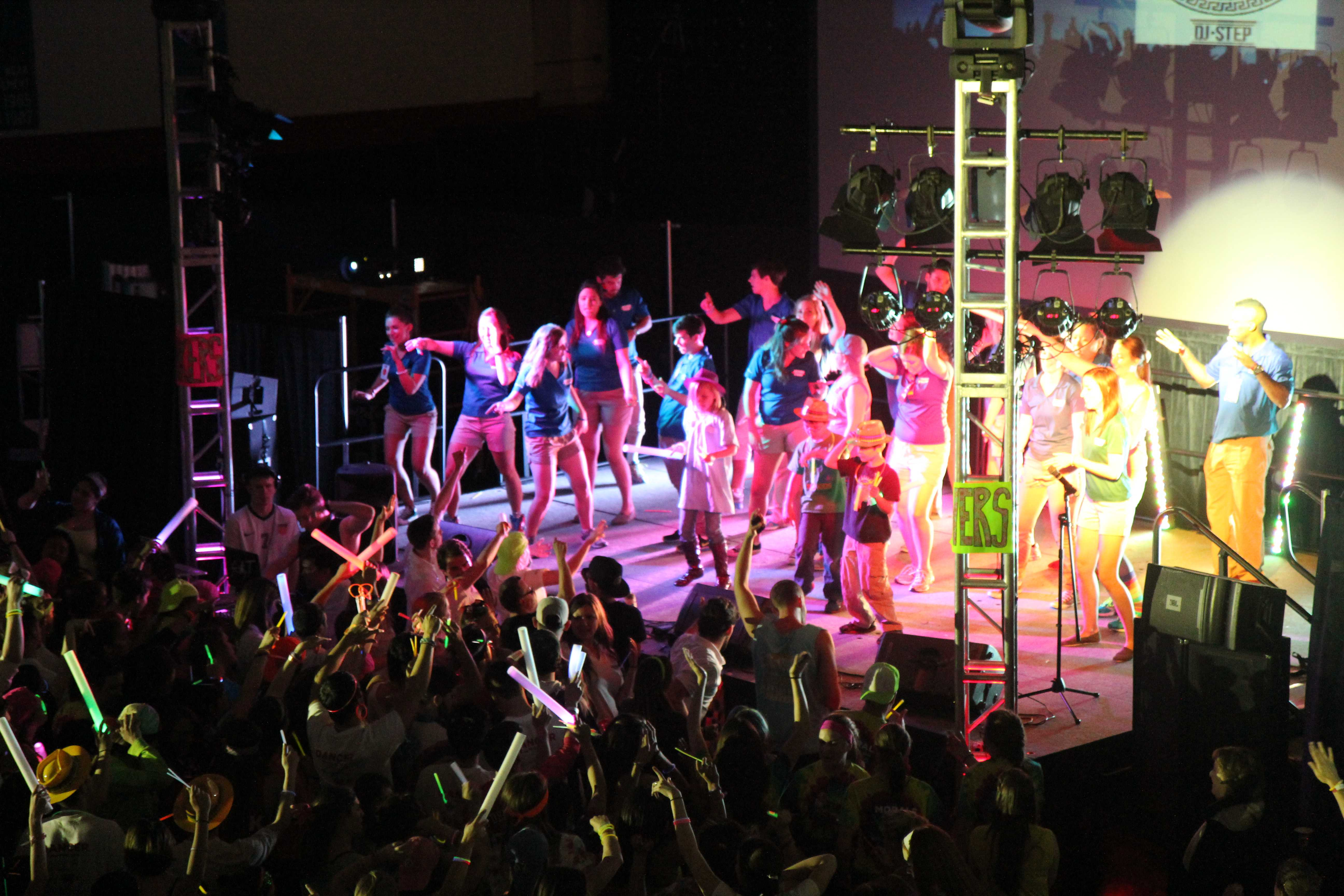 DemonTHON participants danced for 24 hours in a marathon effort to raise money for Ann & Robert H. Lurie Children's Hospital. DemonTHON broke its record for the most money raised at the event in its third year. (John Gallagher / The DePaulia)