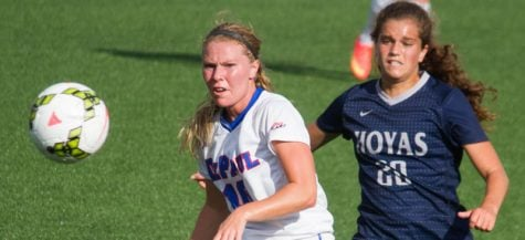 DePaul women's soccer ties with Georgetown 3-3