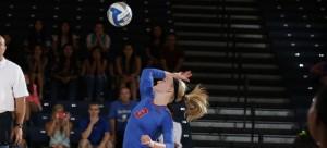 Rachel Breault of DePaul volleyball. (Photo courtesy of DePaul Athletics)