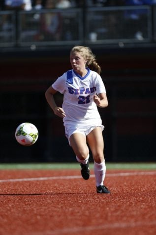 For Abby Reed, DePaul women's soccer is now home
