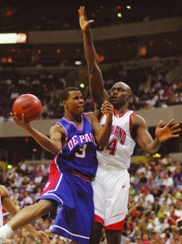 Quentin Richardson attended DePaul from 1998-2000 and played in the NBA for 13 years for teams such as the Orlando Magic and the New York Knicks. (Photo: George Bridges / MCT Campus)