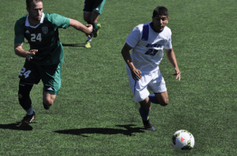 DePaul men's soccer wins home opener 1-0 vs. Utah Valley