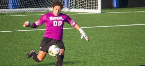 No goals, no problems: Alex Godinez of DePaul women's soccer's success and leadership
