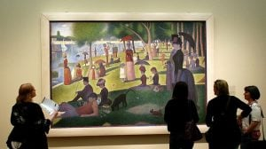 "Georges Seurat's ""A Sunday Afternoon on the Island of La Grande Jatte"" at the Art Institute of Chicago. (Photo: Flickr via Creative Commons)"