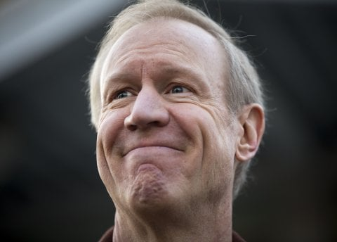 Bruce Rauner, the GOP candidate for governor, has tried to shape his image as a moderate to attract undecided voters. Photo courtesy of AP