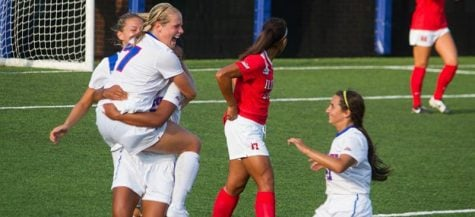 DePaul women's soccer ties university-best start in 3-1 win over Illinois State