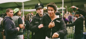 """Marcus Haney documents his adventures while sneaking into music festivals in  """"No Cameras Allowed."""" (Photo courtesy of Pulse Radio)"""