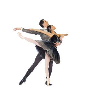 Dylan Gutierrez and Jeraldine Mendoza (Cheryl Mann/Joffrey Ballet)