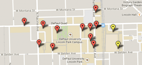 MAP: Polling places for on-campus residents