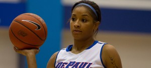Freshman Mart'e Grays was ranked the 91st-best player in the 2014 recruiting class by ESPN.  (Grant Myatt / The DePaulia)