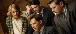 "Keira Knightley, Matthew Beard, Matthew Goode, Benedict Cumberbatch and Allen Leech in  ""The Imitation Game."" (Photo courtesy of ""The Imitation Game"")"