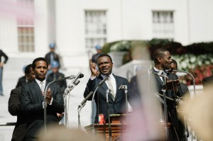 """David Oyelowo gives an honest and moving performance as Dr. Martin Luther King in """"Selma."""""""