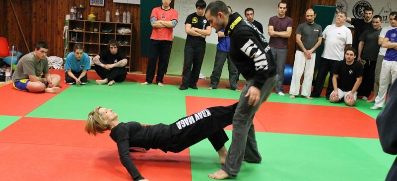 Krav Maga will show you how to disarm or neutralize an attacker and end a fight as quick as possible. (Wikimedia Commons)