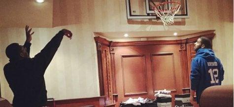 Zero to 12: Rapper Drake wears Brittany Hrynko of DePaul women's basketball gear