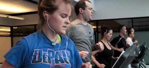The Ray hosts DePaul's first indoor triathlon