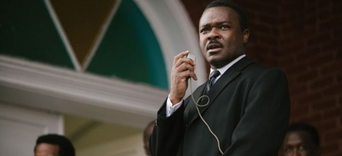 "David Oyelowo portrays Dr. Martin Luther King, Jr. in a scene from ""Selma."" The film was nominated for an Oscar for Best Picture on Jan. 15. (Atsushi Nishijima 