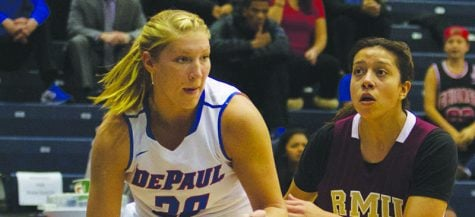Megan Podkowa of DePaul women's basketball fitting into new role