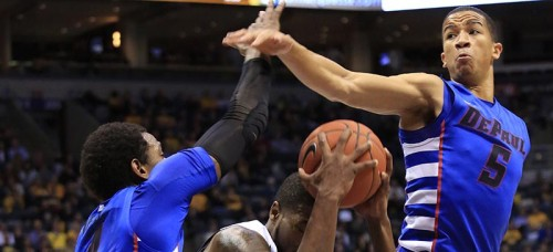 Marquette took a 71-45 edge in the all-time series between DePaul with a 58-48 win Saturday at the BMO Harris Bradley Center. (Darren Huack | AP)