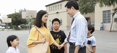 """Fresh off the Boat"" is a new ABC sitcom about assimilating into American culture. Because it is the first show about Asian-Americans since 1994, there is pressure to accurately depict their unique experience. (Photo courtesy of ABC)"