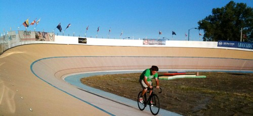 The South Chicago Velodrome Association is attempting to reach an agreement to expand the velo campus in a sport that has been declining in popularity since the 18th century. (Photo courtesy of South Chicago Velodrome Association)