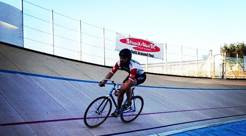 The South Chicago Velodrome Association is trying to expand the opportunities on the South Side of Chicago for prospective bikers. (Photo courtesy of South Chicago Velodrome Association)