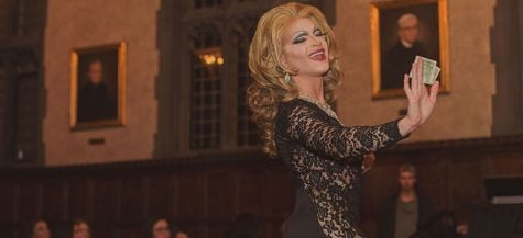DePaul students perform at amateur drag show