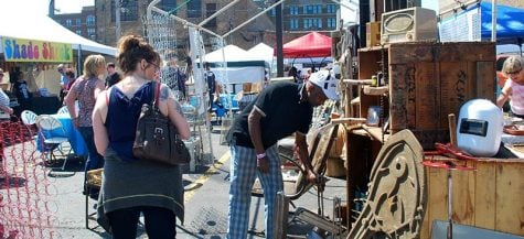 How to sift through treasures at a flea market