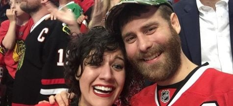 Lucky DePaul grad and Blackhawks fan gets surprise of his life for Game 6