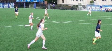 DePaul women's soccer freshman provide spark off bench