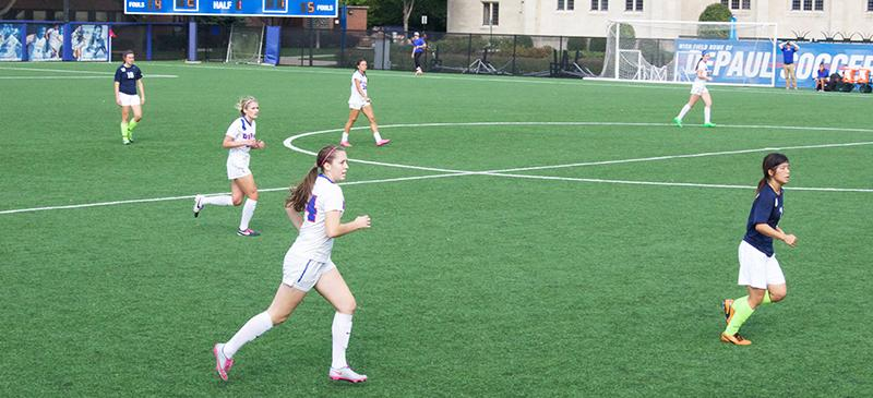 women's soccer freshmen feature