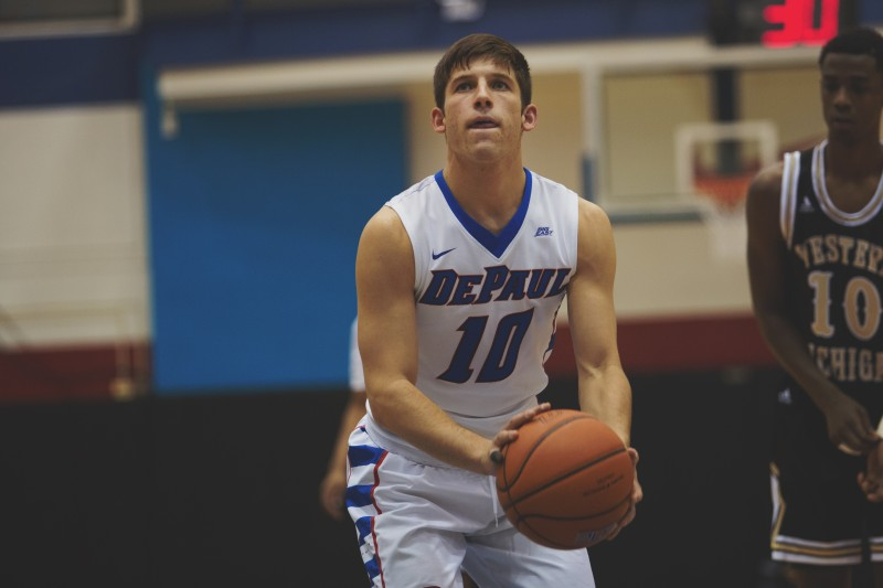 After being seriously injured at his previous college, David Molinari has gone on to receive an athletic scholarship at DePaul. (Olivia Jepsen / The DePaulia)