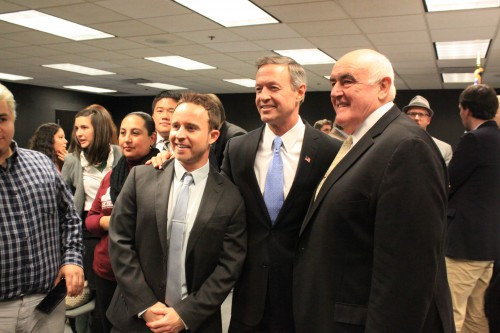 Maryland senator and Democratic presidential candidate Martin O'Malley talked about immigration reform at DePaul Thursday. (Mariah Woelfel / The DePaulia)