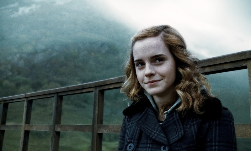 "Emma Watson as Hermione Granger in ""Harry Potter and the Half Blood Prince."" While Hermione was portrayed as white in the films, ""Harry Potter"" author J.K. Rowling said she never specified the character's race. (Photo courtesy of WARNER BROS. PICTURES)"
