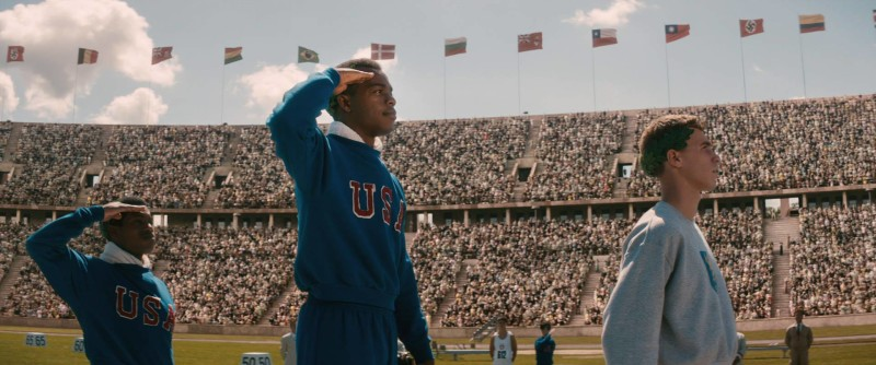The film 'Race' follows the track career of Jesse Owens, who went from running at Ohio State University to winning four gold medals in the 1936 Olympic Games. (Photo courtesy of FOCUS FEATURES)