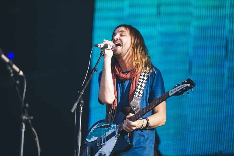 Tame Impala performs at Lollapalooza 2015. (Josh Leff / The DePaulia)