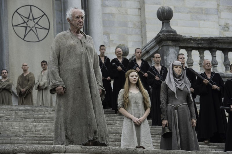 Margaery stands before the people of King's Landing. (Macall B. Polay/courtesy of HBO)