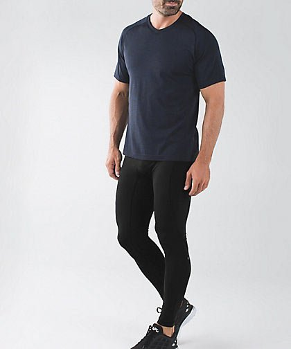 Lululemon's Tight Stuff Tight is just one example of athletic brands catering upscale clothing to men. (Photo courtesy of LULULEMON)