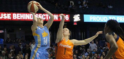 The Sky's not the limit: DePaul alum Allie Quigley an integral part of the Chicago Sky