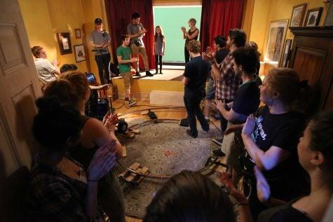 DePaul film students work on sci-fi drama