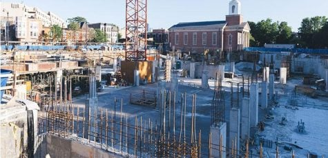 New School of Music makes visible progress over summer
