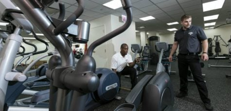 New fitness center opens at downtown campus
