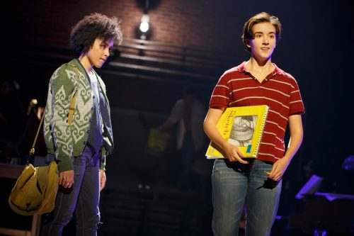 "Charlotte actress, Abby Corrigan (left) as Middle Alison, in her first national tour of ""Fun Home."" (Photo courtesy of Fun Home)"