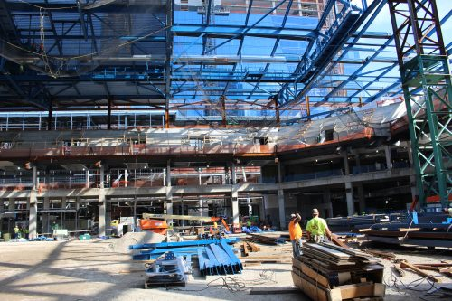 The interior of the arena. (Jack Higgins/The DePaulia)