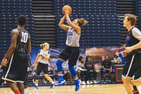 Jessica January heads to training camp with the Connecticut Sun