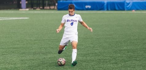 Men's soccer claims first Big East win