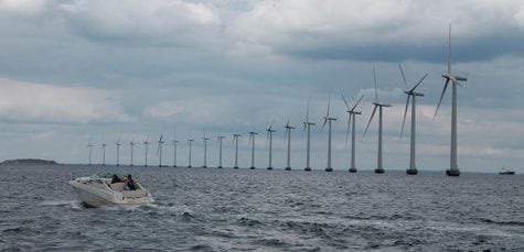 Offshore wind farms and the future of renewable energy