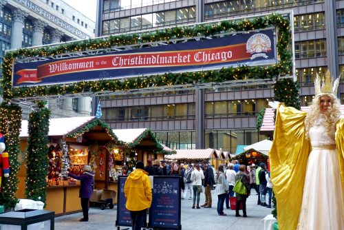 In its 21st year, the Christkindlmarket continues to draw large crowds of people looking for something to do in subzero temperatures. (Courtesy of Christkindlmarket)