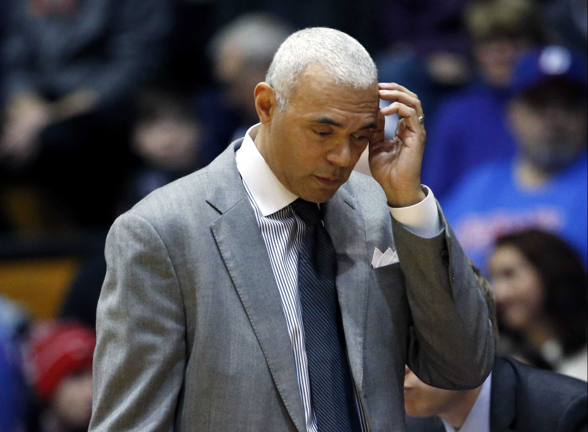 DePaul coach Dave Leitao (AP Photo/Nam Y. Huh)