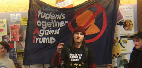 Students Together Against Trump continue organized opposition